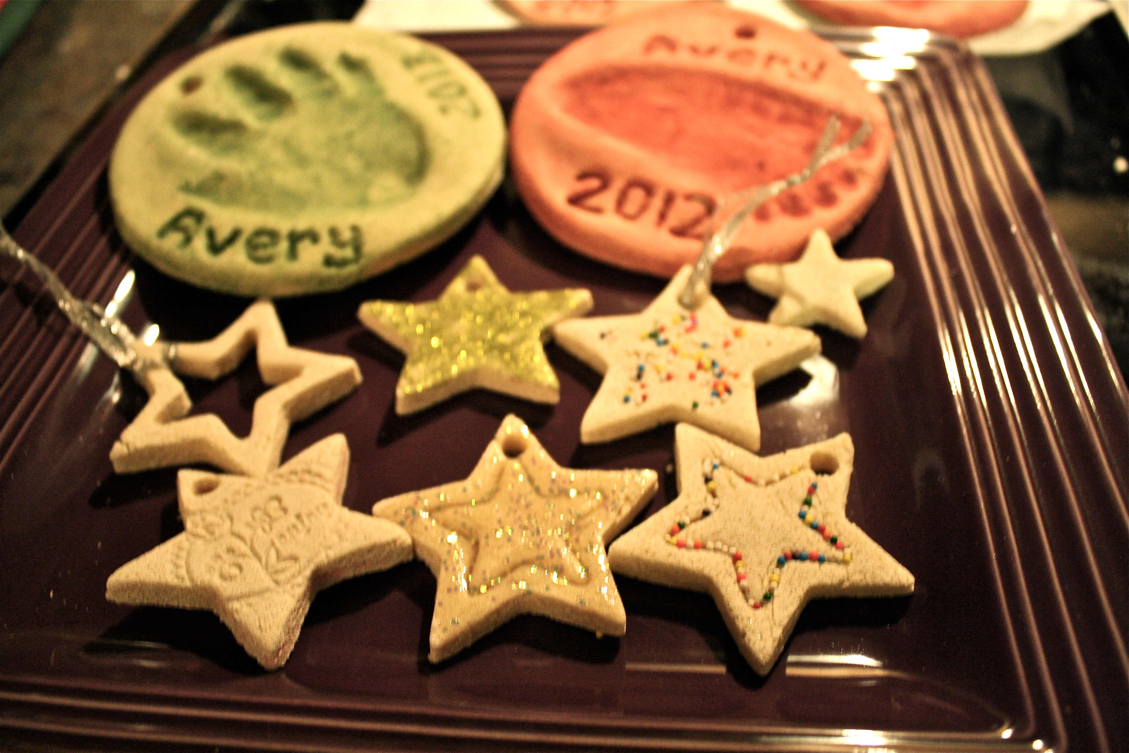 salt dough ornament collection