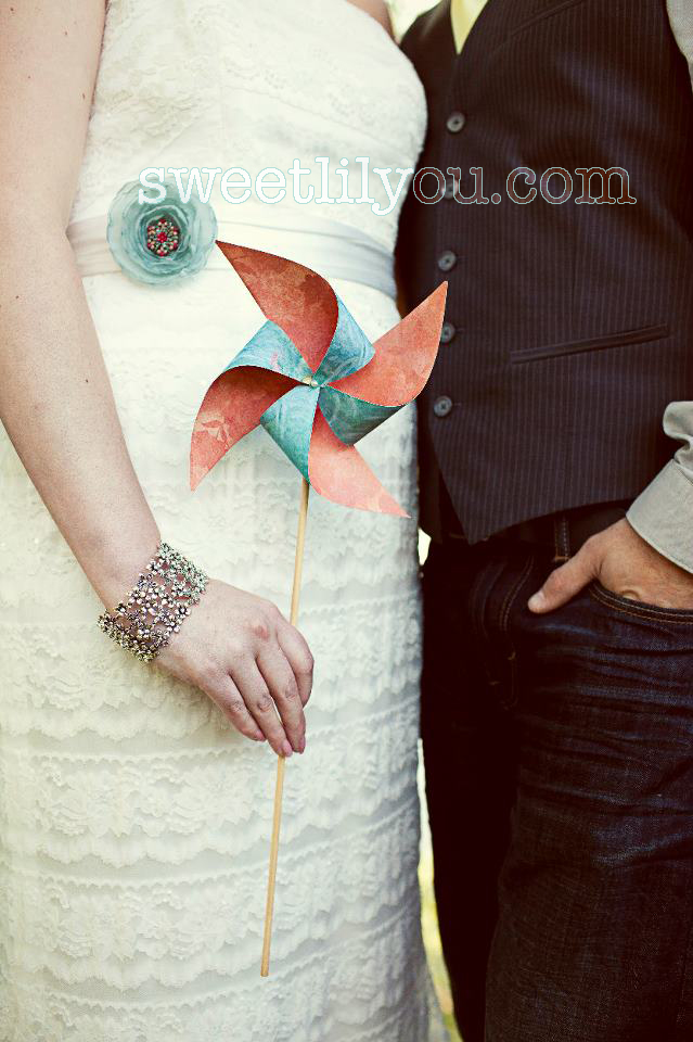 wedding pinwheels